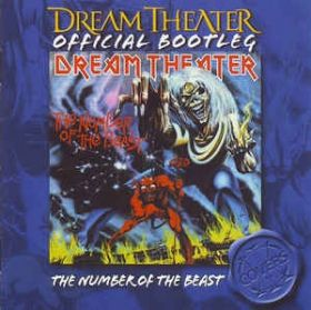 DREAM THEATER - OFFICIAL BOOT : THE NUMBER OF THE BEAST